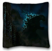 Custom Characteristic ( Godzilla ) Custom Cotton & Polyester Soft Rectangle Pillow Case Cover 50cm x 80cm (One Side) suitable for X-Long Twin-bed