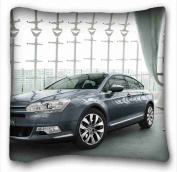 Custom Cotton & Polyester Soft ( Citroen ) Pillowcase Cushion Cover Design Standard Size 50cm x 80cm One Sides suitable for Full-bed