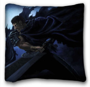 Soft Pillow Case Cover ( Berserk ) DIY Pillow Cover Size 50cm x 90cm suitable for Queen-bed