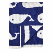 Just Born Sweater Knit Blanket, High Seas