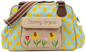 Pink Lining Blooming Gorgeous Zipper Bag, Sunflowers