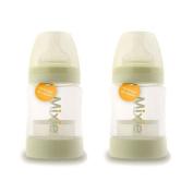 2 Pack, Mixie Formula-Mixing Baby Bottles, 120ml