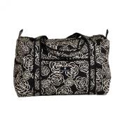 Balboa Baby Duffle Bag, Black Camellia