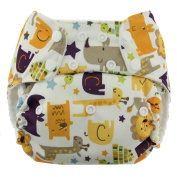 One Size Snap Pocket Nappies