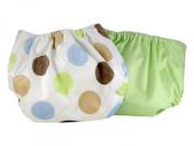 Pam Grace Creations 2 Piece Cloth Nappy, Polka Dots