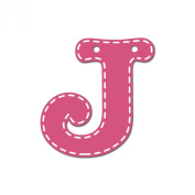 CoCaLo Mix & Match Pink Hanging Letter, J