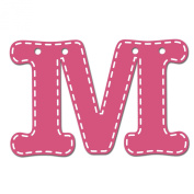 CoCaLo Mix & Match Pink Hanging Letter, M