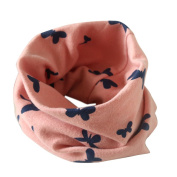 FEITONG® Fashion Kids Baby Infant Autumn Winter Boys Girls Collar Baby Butterfly Scarf Cotton O Ring Neck Scarves