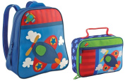 Stephen Joseph Go Go Backpack and Classic Lunchbox Set