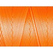 C-Lon Bead Cord, Neon Orange - 92 Yard Spool