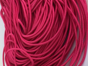 Hot Pink Elastic Stretch Shock Cord 2mm 25 yards 23 metre
