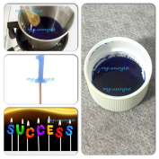 Blue 30ml Ounce Liquid Candle Dye Concentrated Dye Gel Wax Colour Colourant Sample Bluish