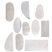 Pottery Clay Moulding Ceramics Sharp Steel Cutter Tools Scraper Crafts Pack of 10
