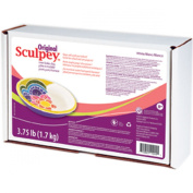 Brand New Sculpey Original Polymer Clay 1.7kg-White Brand New