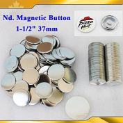 "Asc365 100sets Nd. Magnetic 1-1/2"" 37mm Magnet Parts Supplies for Maker Machine"
