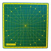 Skyhawk 360° Rotating Cutting Mat Self Healing Long Lasting 36cm X 36cm - Perfect for Quilting, Paper Craft, Scrapbooking, Clay Craft, Modelling, Painting, or Any Other Craft or Hobby.