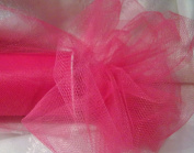*FUCHSIA PINK TULLE* - 15cm WIDE - 25 YARD ROLL - GREAT FOR BRIDAL, BOWS, CRAFTS, & SEWING!