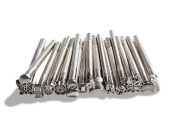 Hot 20pcs DIY Leather Working Saddle Making Tools for Leather Craft Working