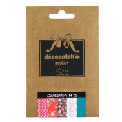Decopatch Decoupage Printed Paper 5 Sheet Pocket Collection #2