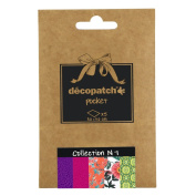 Decopatch Decoupage Printed Paper 5 Sheet Pocket Collection #1