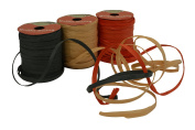 Raffia String / Ribbon, 0.6cm x 15m each spool, Pack of 3 spools