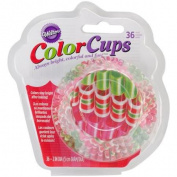 Colorcup Standard Baking Cups-Ribbon Candy 36/Pkg