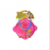 Nuby Suction Bowl with Spoon and Lid, Colours May Vary