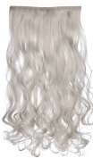 SR Women's 1PC Synthetic Hair Extension Wave Clip In Hair Extensions 20inch 50cm 130g 888 22 Colours Available
