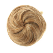 Etosell Women Pony Tail Wig Scrunchie Hair Bun Hairpiece Golden