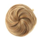 Etosell Women Pony Tail Wig Scrunchie Hair Bun Hairpiece Golden