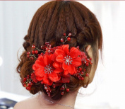 KAMAY'S® Bridal headdress pearl inlaid crystal bridal hair accessories TS009