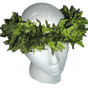 HAWAIIAN HEAD LEI HAKU - Green Fern or White Plumeria