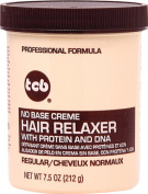 TCB No Base Hair Relaxer Creme, Regular, 220ml