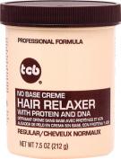 TCB No Base Hair Relaxer Creme, Regular, 220ml