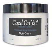 Night Cream Organic Facial Moisturiser with Manuka Honey, Natural Anti Wrinkle, Deeply Hydrating and Moisturising by GoodOnYa Organic Skin Care Products