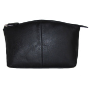 Large Leather Cosmetic Make-up Case