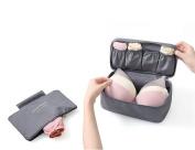Wowlife Fashion Portable Multi-Functional Travel Organiser Cosmetic Make-up Bag Luggage Storage Case Bra Underwear Pouch