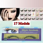 BHD Mink 100% Real Handmade Mink False Eyelashes 1 Pair
