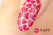 Heart Stencils for Nails, Nail Stickers, Nail Art, Nail Vinyls - Medium
