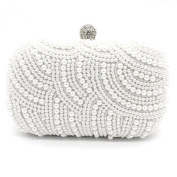 Kingluck New Fashion Pearl Beaded with Pu Clutch Bag Popular Design Shining Pearl Lady Evening Bag
