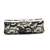 Kingluck Women's Lace Bowknot Evening Bags