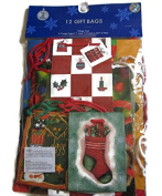Assorted Christmas Gift Bags 12