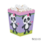 Panda Party Popcorn Boxes - 24 pc