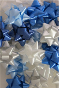 Hanukkah Gift Bows - 54 pcs