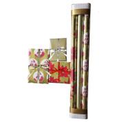 Christmas Elegant Multi Rolls Assorted Set -3 Individual Rolls