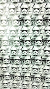 Star Wars Storm Trooper Gift Wrap 0.8m x 2.66 yd