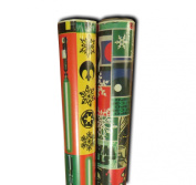 Star Wars Christmas Wrapping paper Set of 2 Rolls 13sqm Droid Light sabre