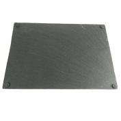 Slate Cheeseboard Chalkboard with Anti-slip, 41cm