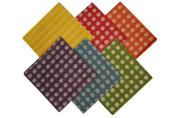 Premium Coloured Polka-dot Tissue Paper, 100 Sheets