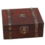 Chinese Vintage Style Jewellery Wooden Box for Woman